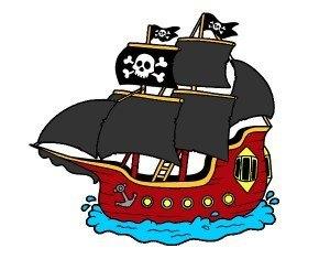 pirata barkua