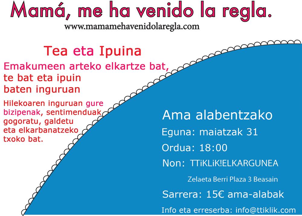 CartelTeconcuentoBeasaineuskara