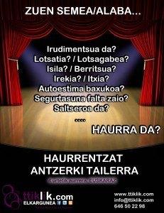 Photo of ANTZERKIA ETA ADIMEN EMOZIONALA TTIKLIK!-EN TALDE BERRIA