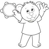 18630010-oso-de-dibujos-animados-jugar-un-tambourine-black-y-negro