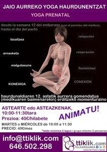 haurdunen yoga prenatal