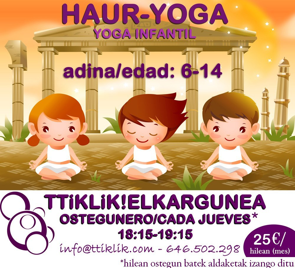 Photo of Yoga Infantil