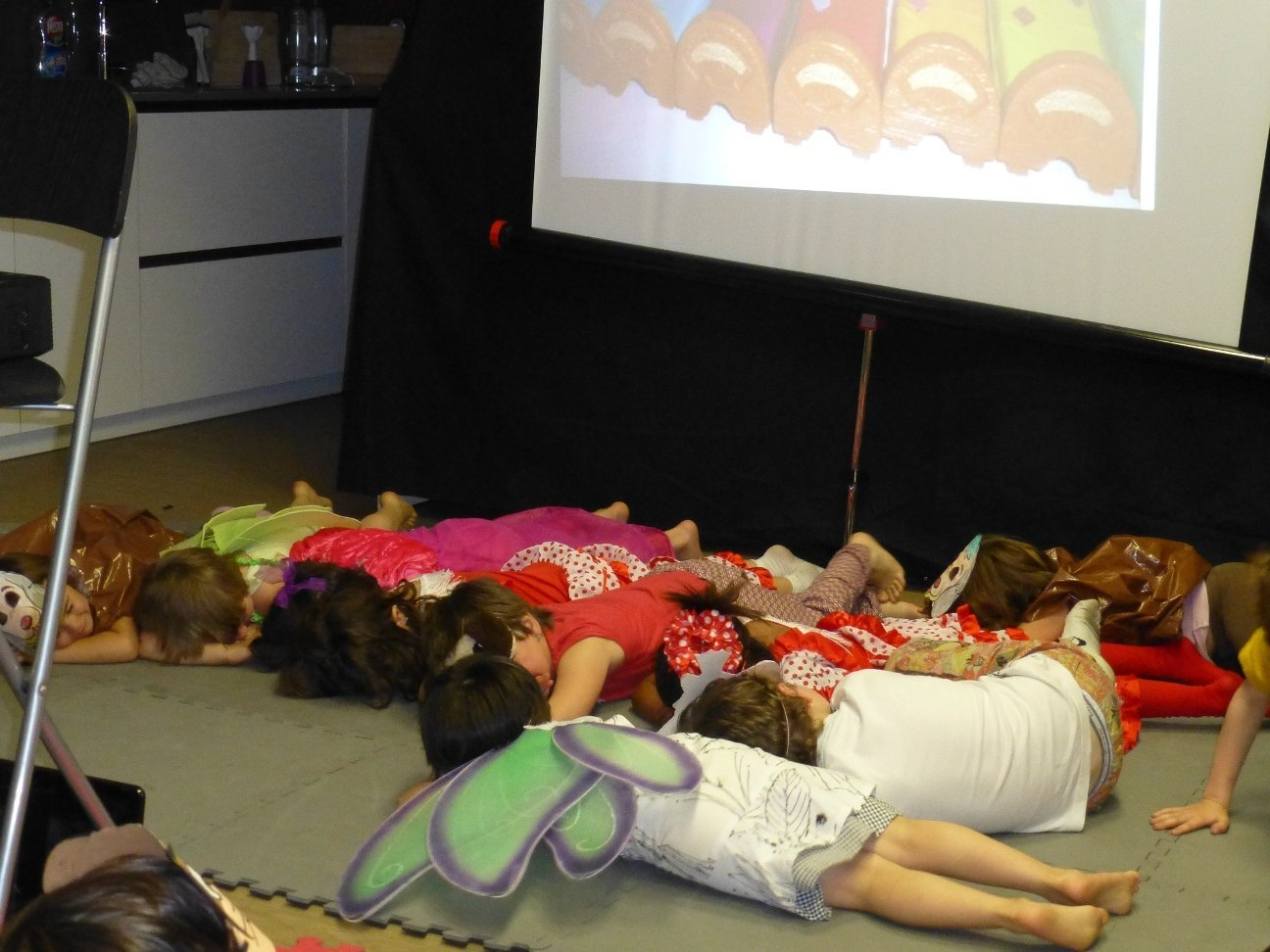Photo of 5 plazas en el taller de teatro infantil