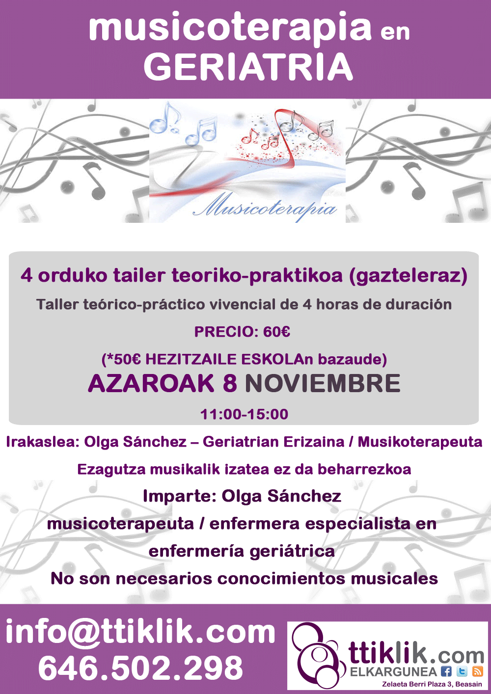 Photo of (gazteleraz) musicoterapia en geriatría