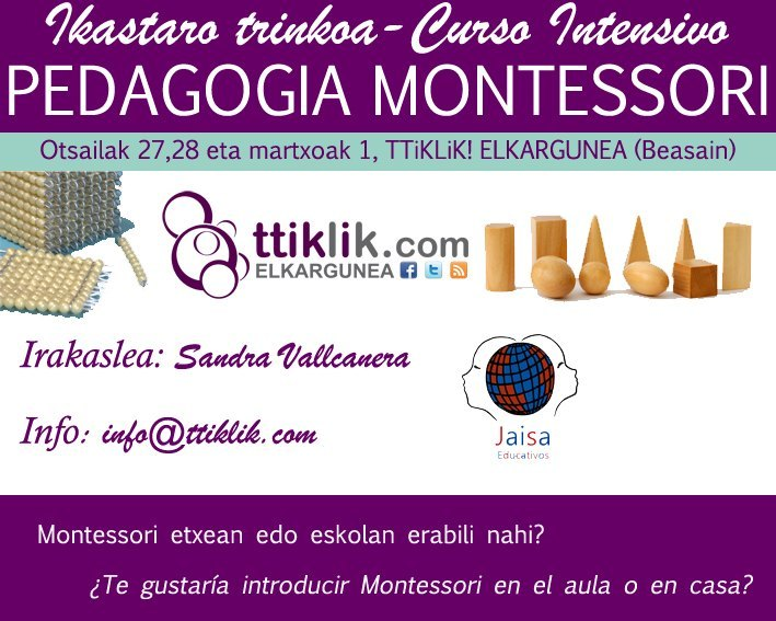 Photo of #Montessori, abenduak 16tik aurrera 203€
