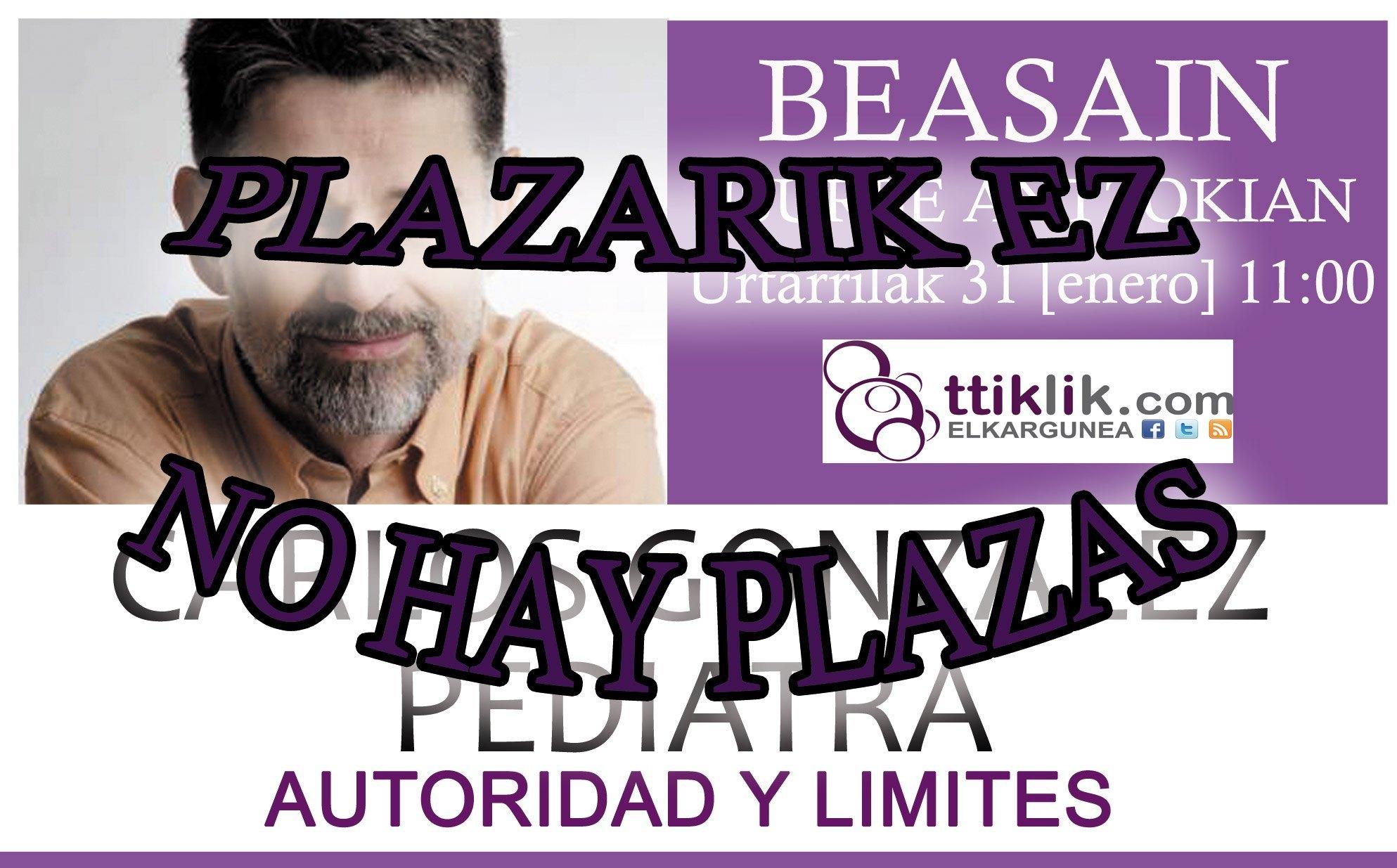 Photo of NO HAY PLAZAS: CARLOS GONZALEZ