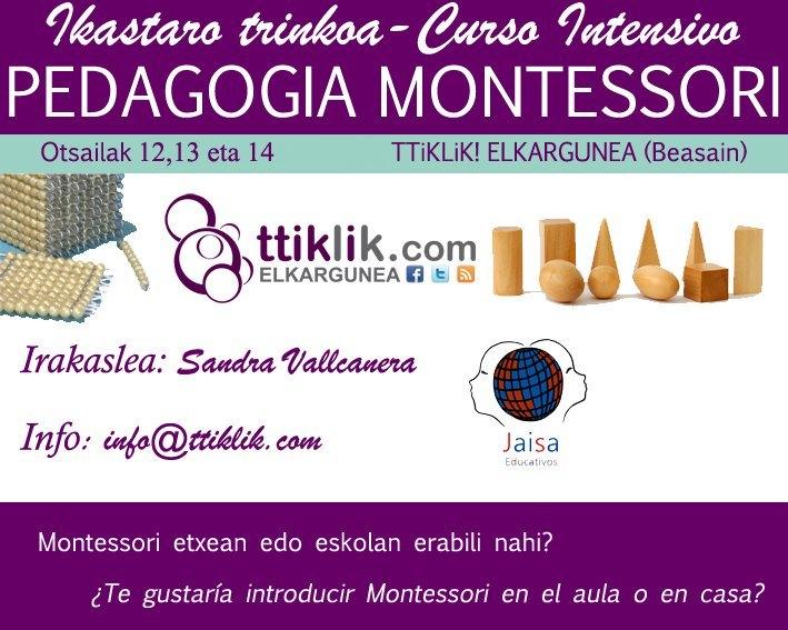 Photo of 2016: Curso introductorio para aquellas personas que quieran iniciarse en Montessori
