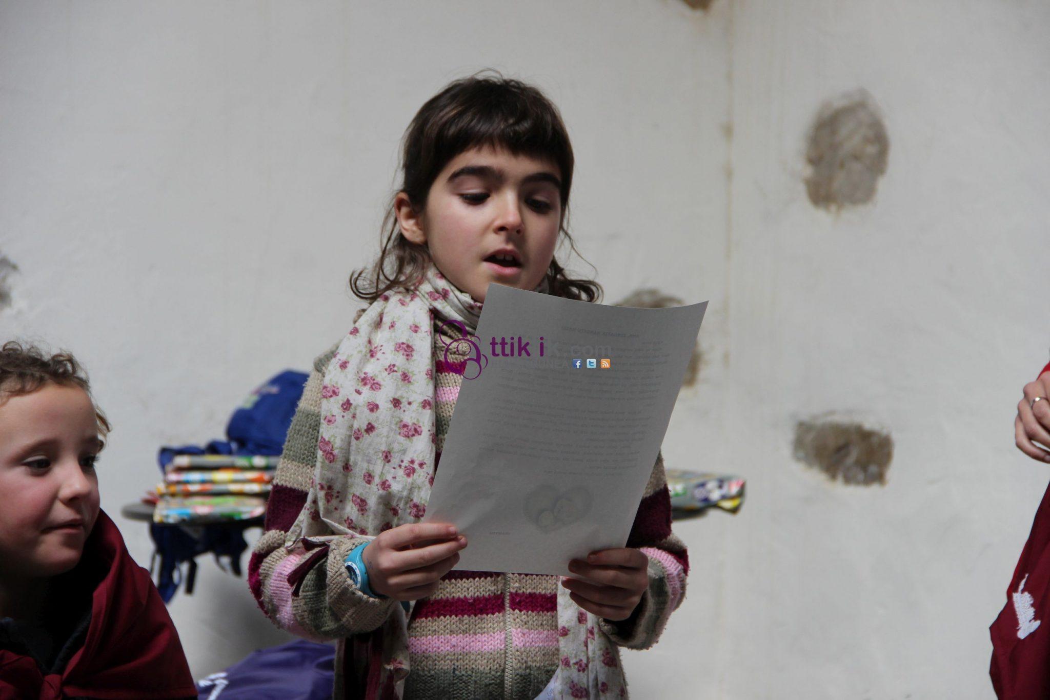 """Photo of III. """"GURASOEI GUTUNA"""" concurso de relatos cortos. Ganadora categoría infantil"""