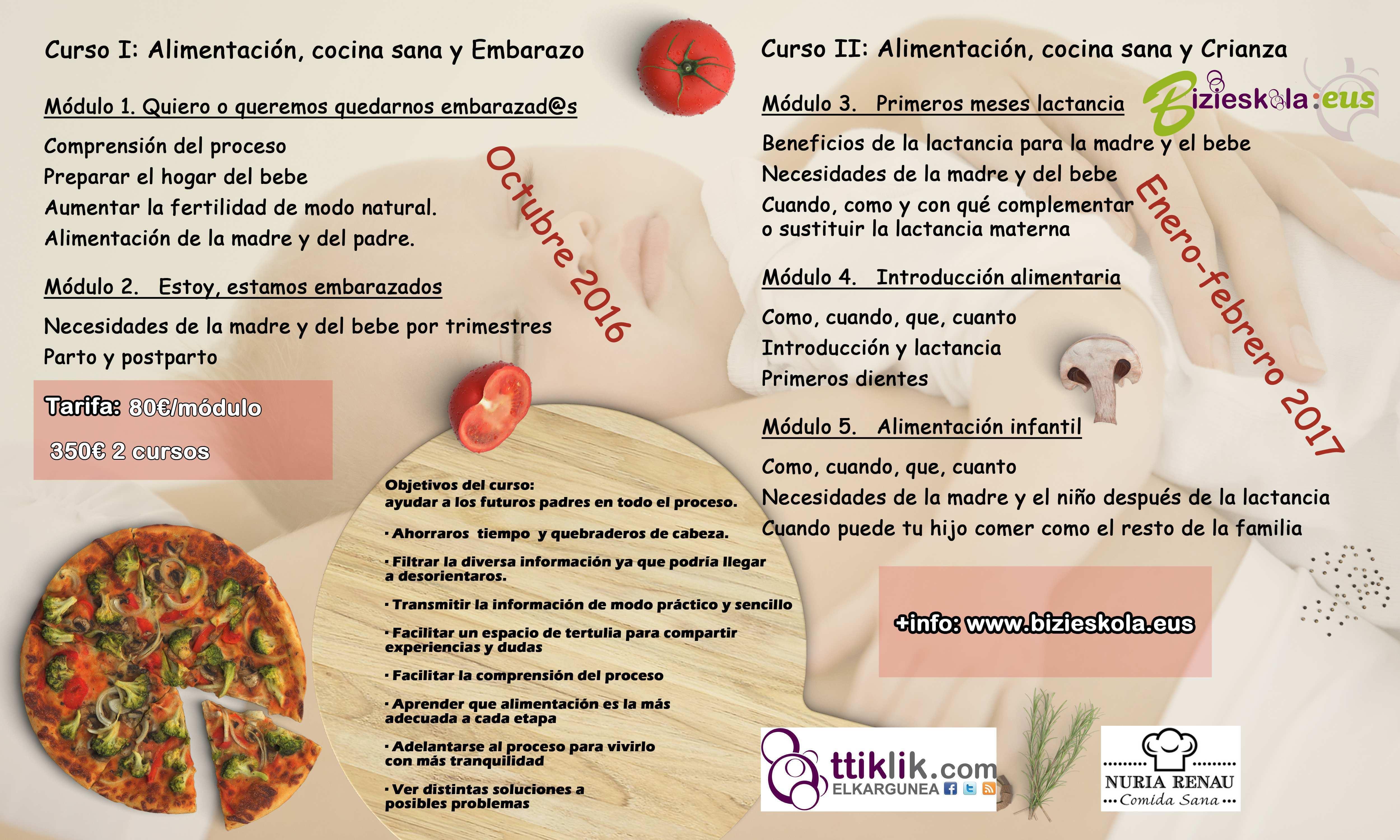 Photo of NUTRICIÓN Y COCINA: EMBARAZO Y CRIANZA