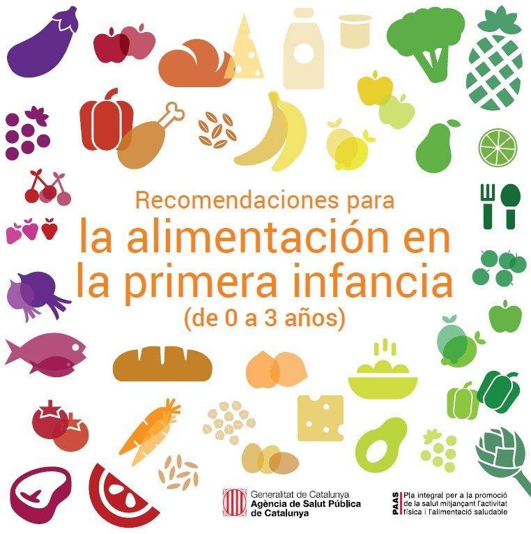 Photo of Recomendaciones para la alimentación en la primera infancia (de 0 a 3 años)